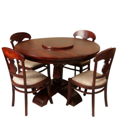 Bolero Round 4 Seater Dining Set